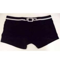Cueca preta modelo sungão em cotton, 95% de algodão e 3% elastano, cod 1289