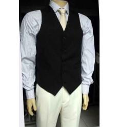 Fredao Moda Masculina Colete de terno preto em tecido oxford.  Ref. 1527 Entrega imediata com todas garantias da Empresa Fredao