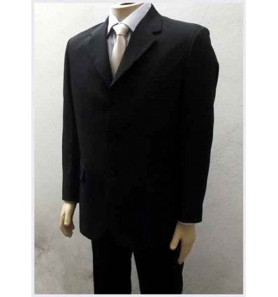 Fredao Moda Masculina Terno preto, tradicional com 3 botões.  Ref 797 Entrega imediata com todas garantias da Empresa Fredao
