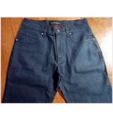 Calça Jeans, azul, de algodão com elastano, cód 1068
