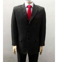 Costume corte italiano, côr musgo em tecido magnetado de ótima qualidade e com perfeito caimento, cod 1264VM